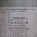 Silberplakette 150x150 Wettbewerb: Unser Dorf hat Zukunft