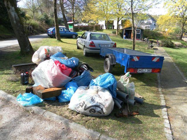 Bergeweise Müll gesammelt – Frühjahrsputz